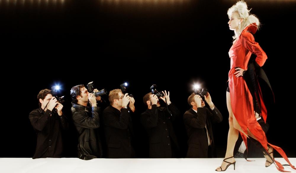 Model at Fashion Show