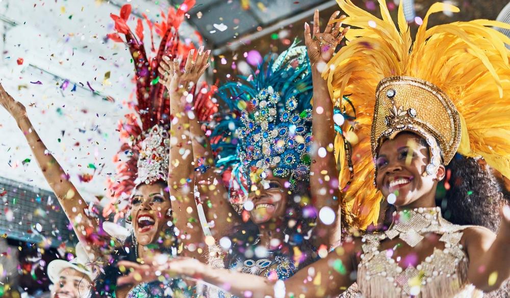 Woman at carnival parade