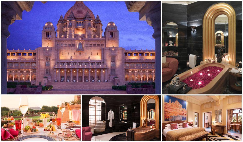 Umaid Bhawan Palace, romantic castle hotels