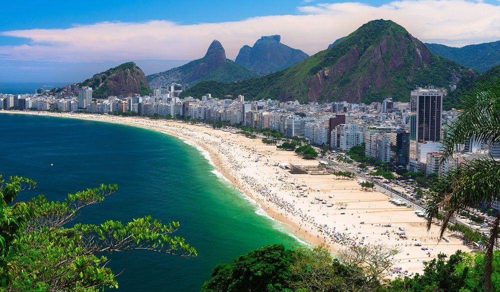 Copacabana beach