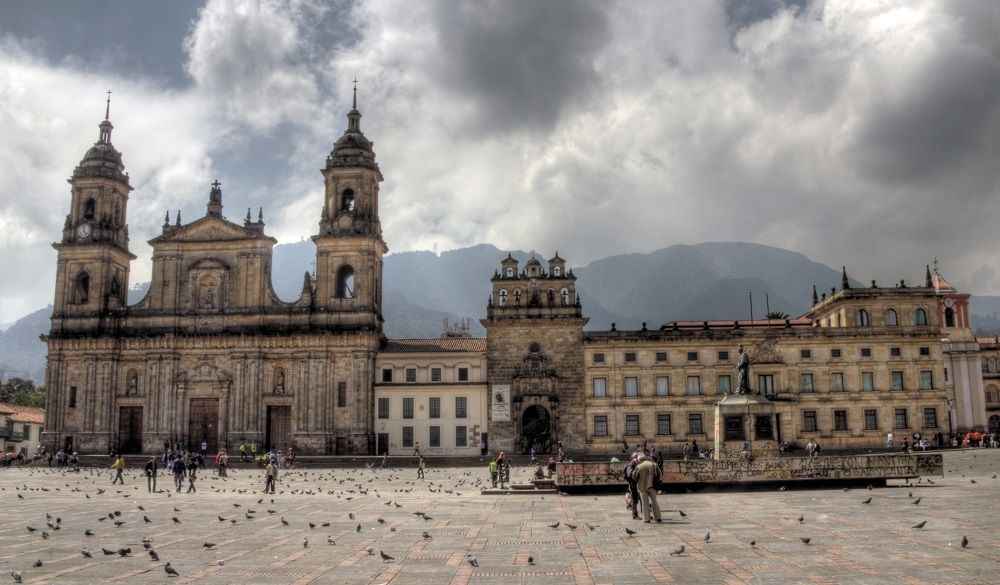 Bogota Bolivar Square