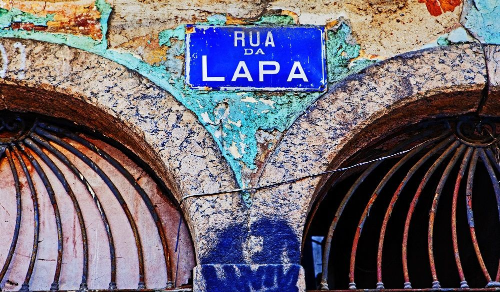 Lapa street sign