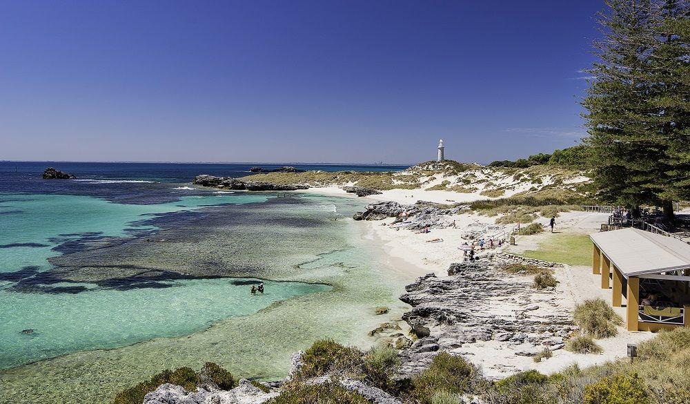 A white-sand beach near Perth