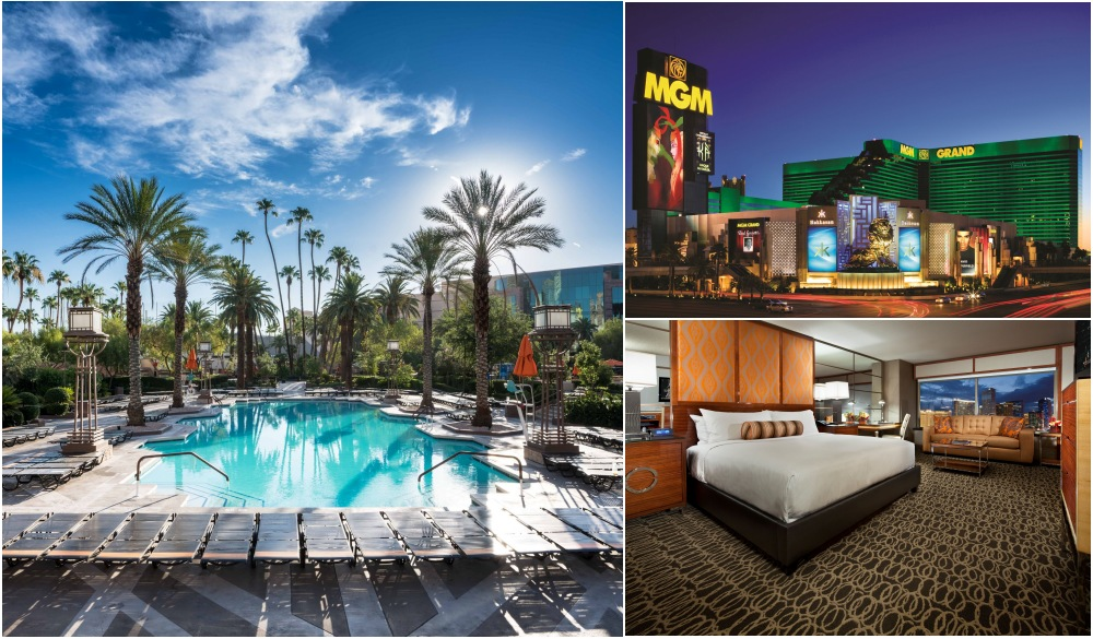 MGM Grand, Vegas hotels with private pools
