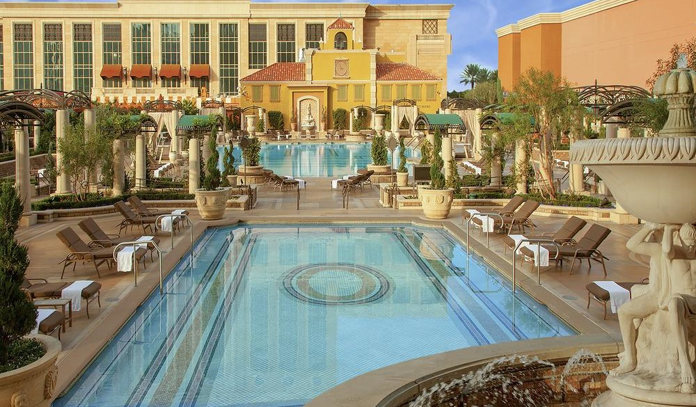 The Venetian Resort Hotel Casino, Vegas hotels with private pools