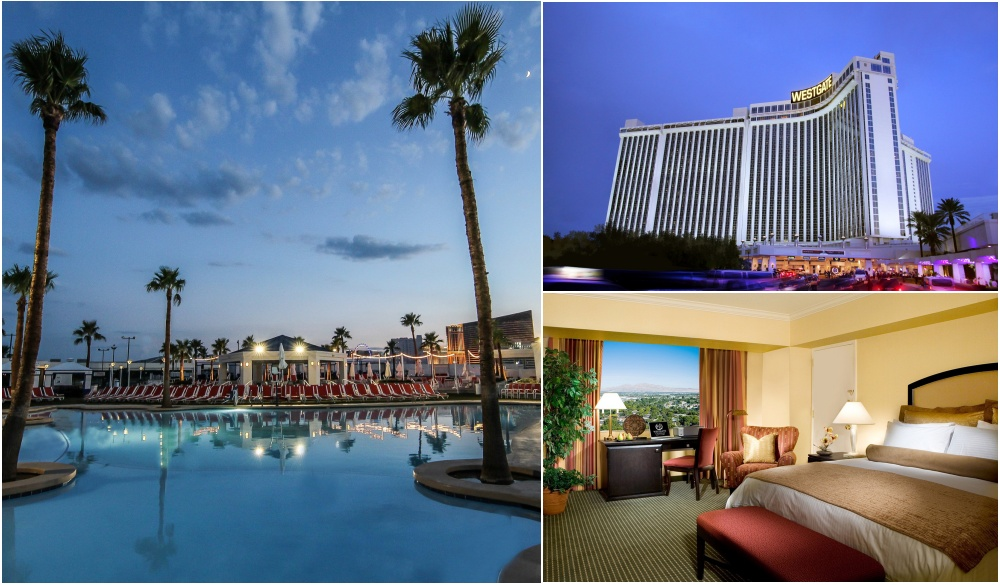 Westgate Las Vegas Resort and Casino, Vegas hotels with private pools
