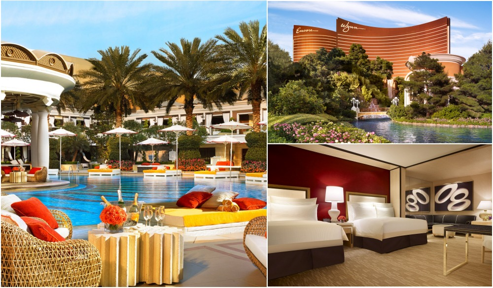 Wynn Las Vegas, Vegas hotels with private pools