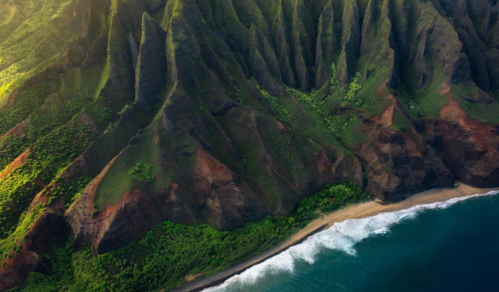 Na Pali coast, Hawaii islands to visit