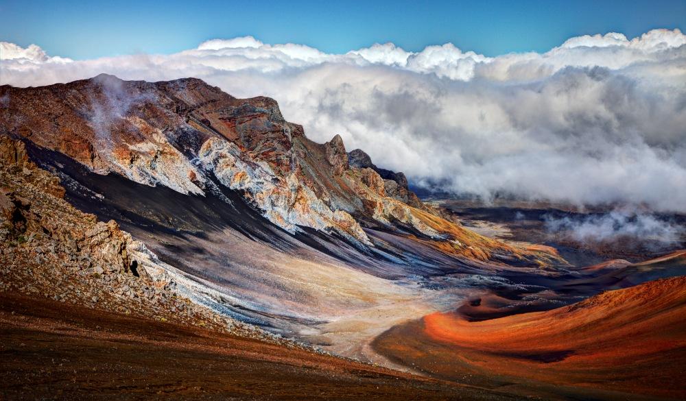Sliding Sands Trail, Haleakala National Park, Hawaii Islands to visit