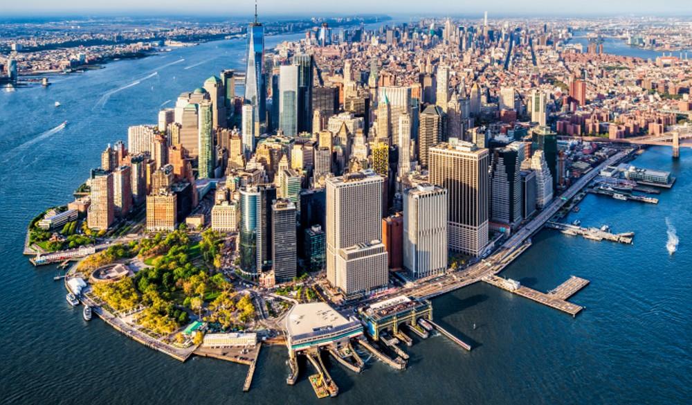 Lower Manhattan. New York