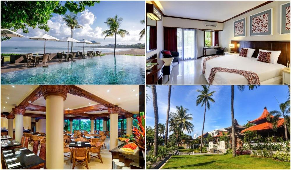 Bali Garden Beach Resort, swim-up bar in Bali