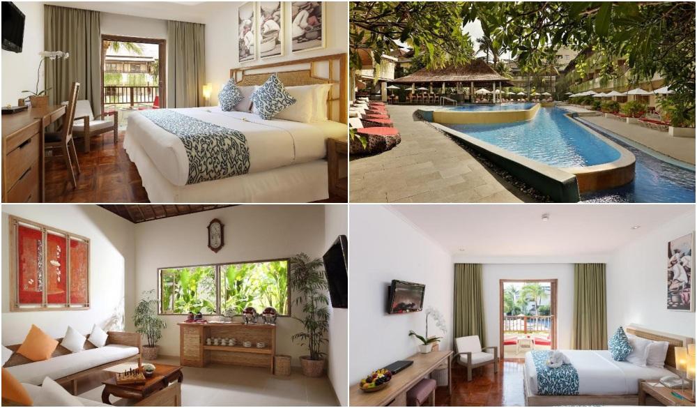 Blu-Zea Resort by Double-Six, swim-up bar in Bali