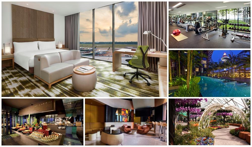 Crowne Plaza Changi Airport – Singapore, airport hotel