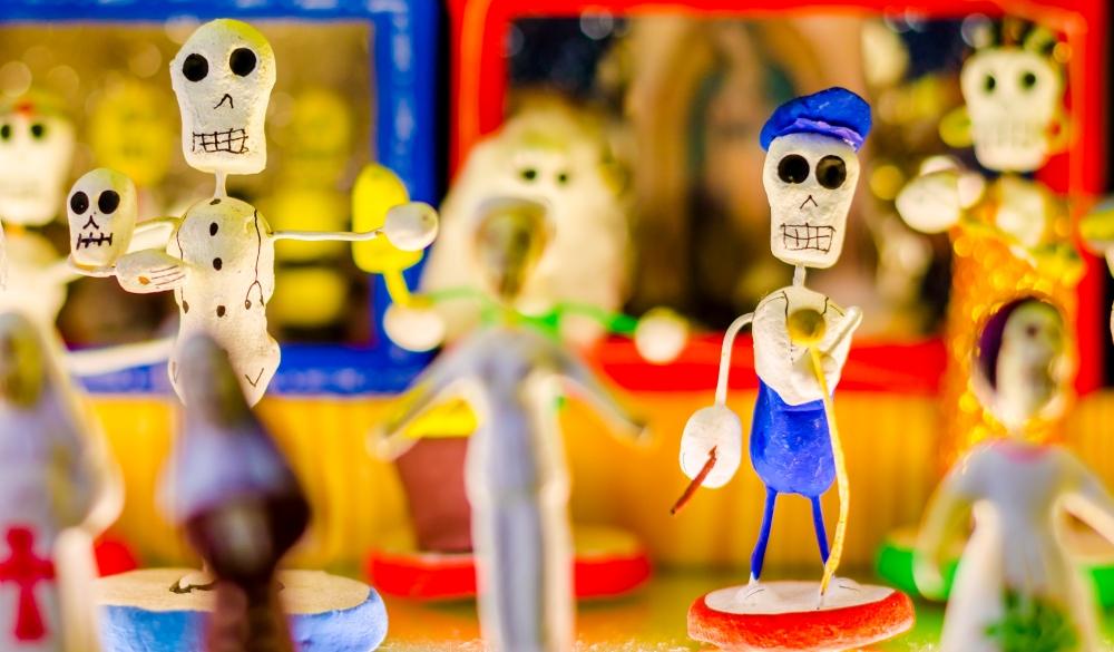 los compadres skull, cinco de Mayo celeberation