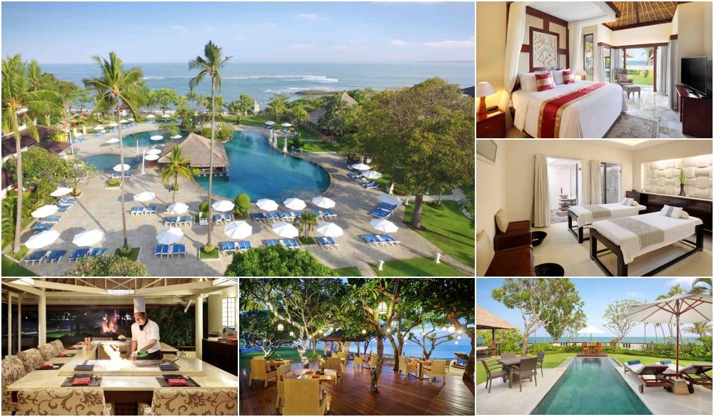 Discovery Kartika Plaza Hotel, swim-up bar in Bali