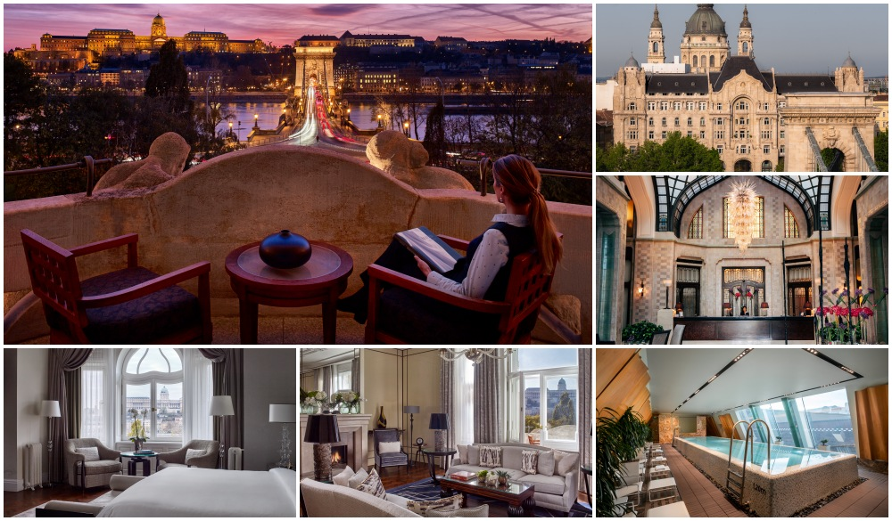 Four Seasons Hotel Gresham Palace Budapest, spa hotel