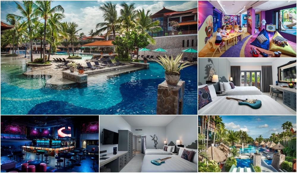 Hard Rock Hotel Bali, swim-up bar in Bali