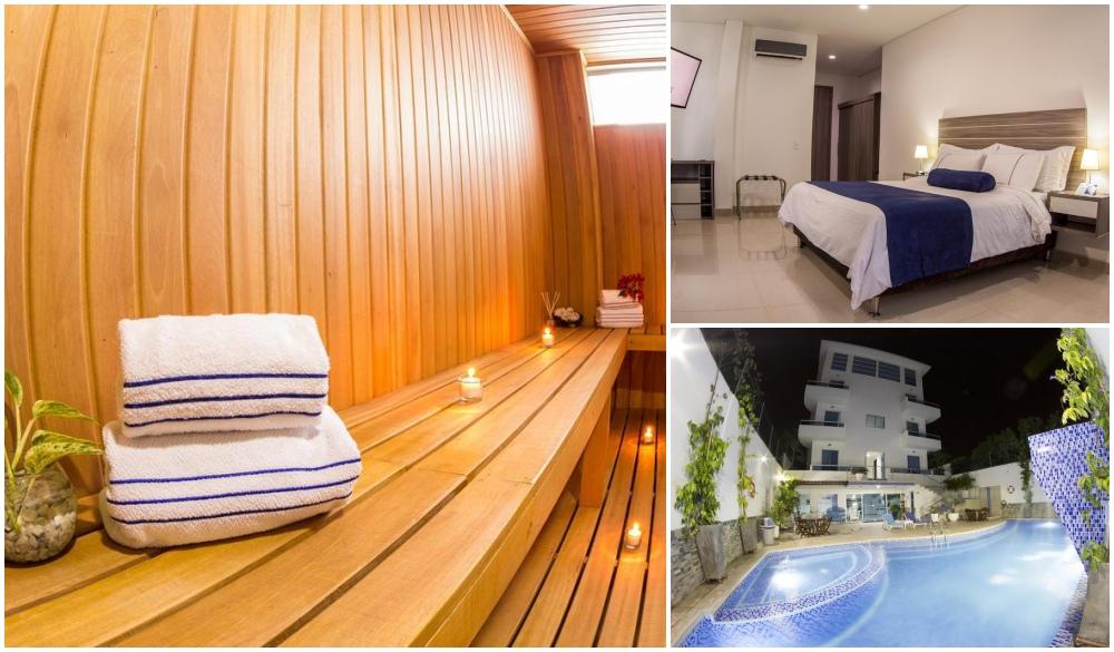 Hotel Altamar Cartagena, natural mud bath