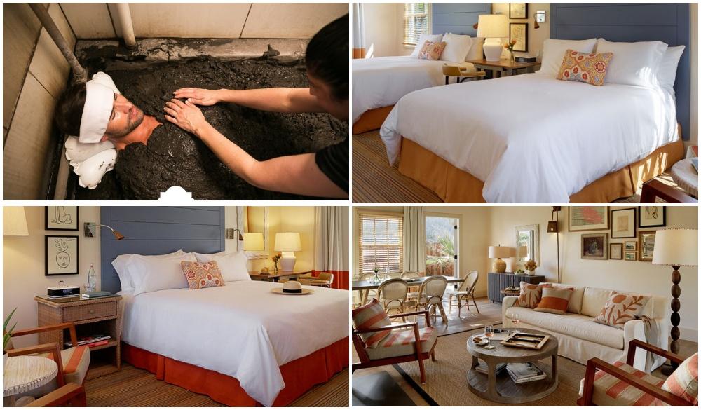 Indian Springs Resort and Spa, natural mud bath