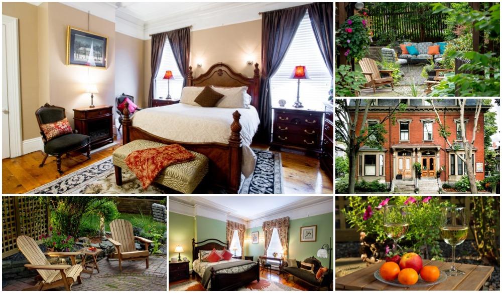 Inn on Carleton, affordable romantic getaways