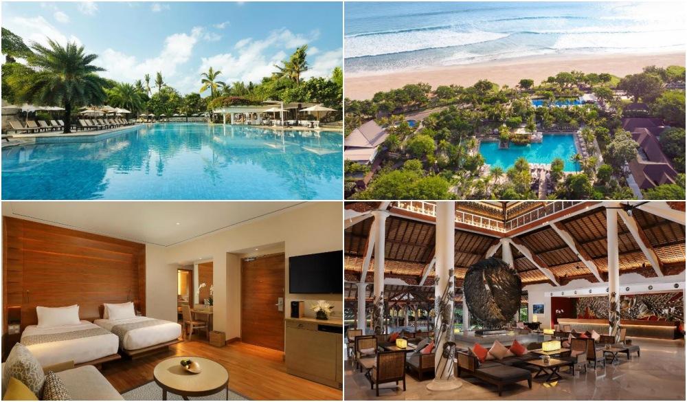 Padma Resort Legian, swim-up bar in Bali