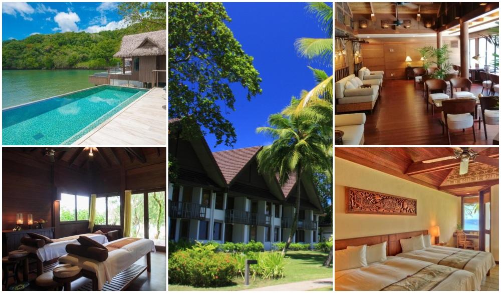 Palau Pacific Resort, natural mud bath