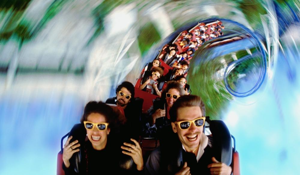 Spiraling Roller Coaster, family hotels in Dubai