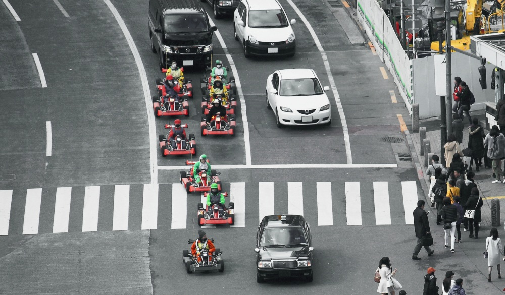 Street Kart Tour, things to do in Akihabara