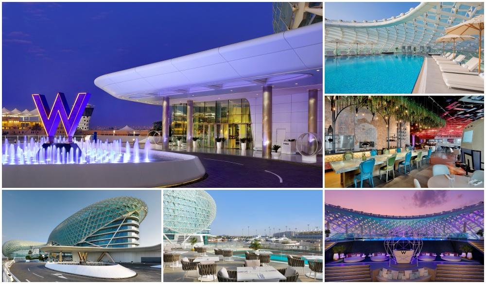 W Abu Dhabi - Yas Island, airport hotel