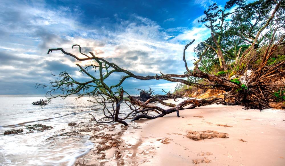 The Beach at Big Talbot Island, Florida, affordable romantic getaways