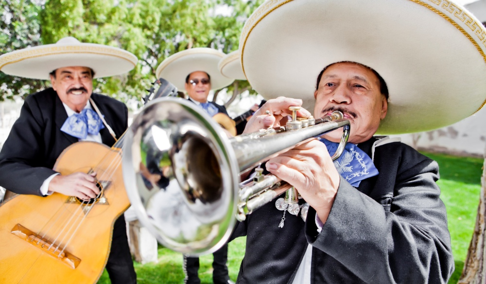 Mariachi Band, cinco de Mayo celebration