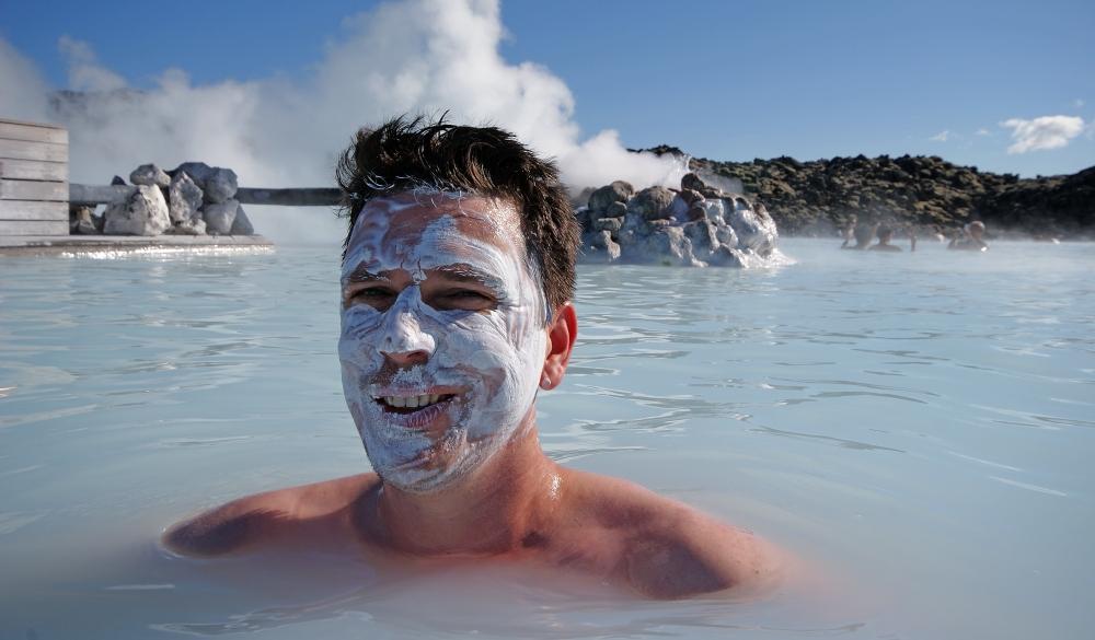 Blue Lagoon, Keflavik, Iceland, natural mud bath