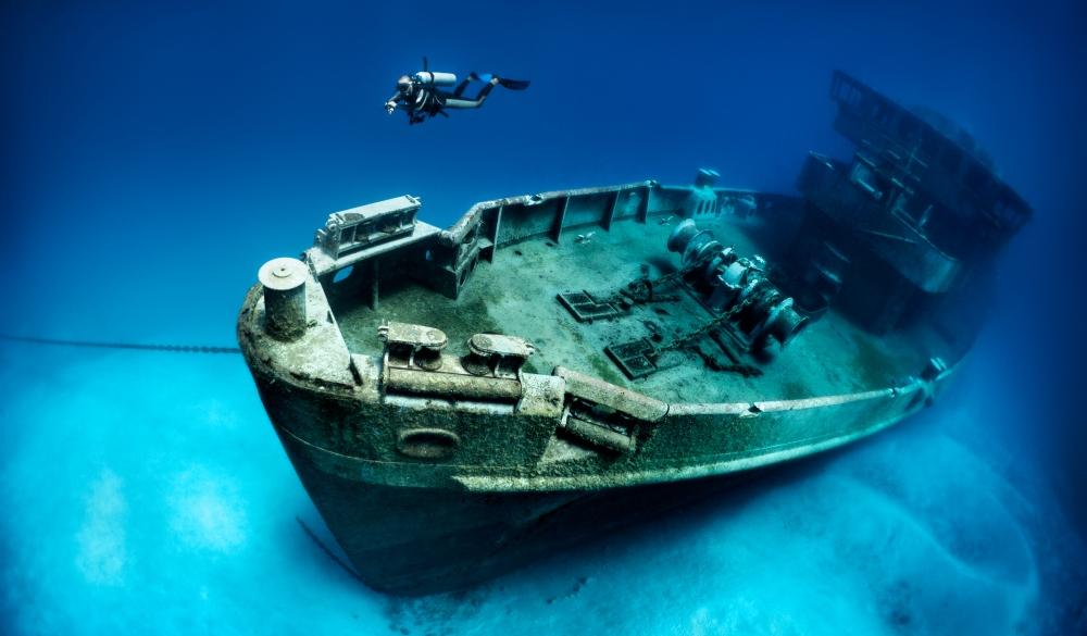 Subron 6 Kittiwake, shipwreck