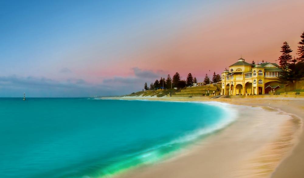 Cottesloe Beach Sunset, Visit Perth, Western Australia