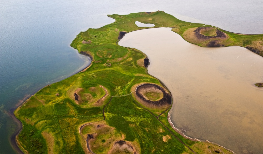 Mývatn Lake and Craters