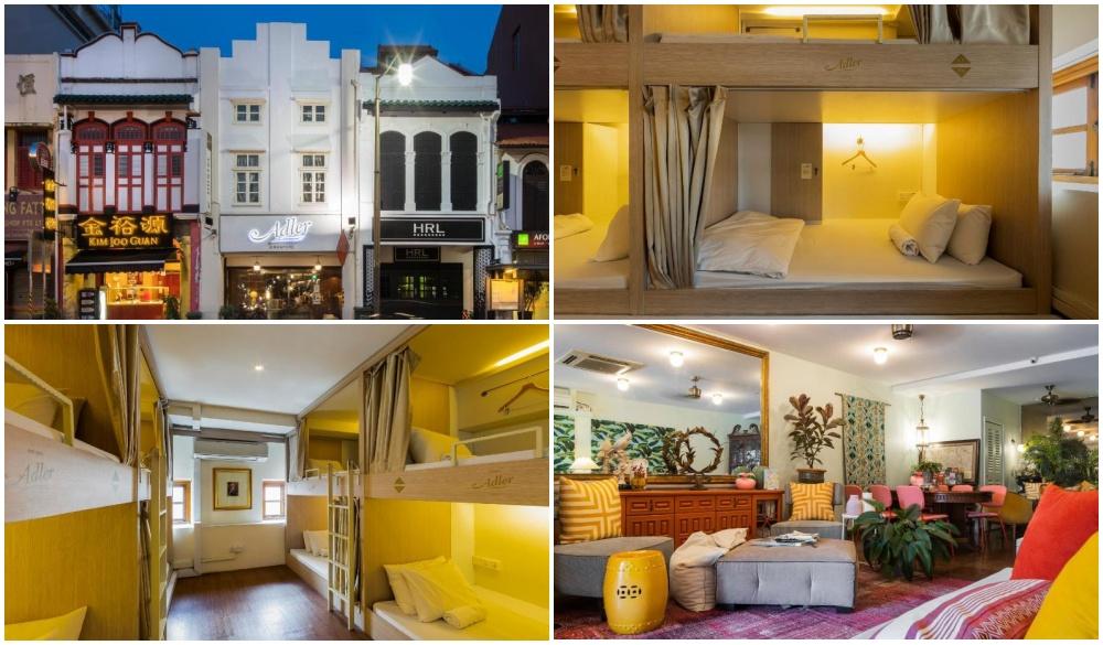 Adler hostel, budget hotels in Singapore