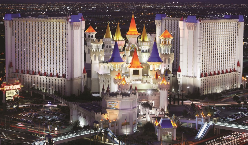 Excalibur Las Vegas, popular hotels in Las Vegas