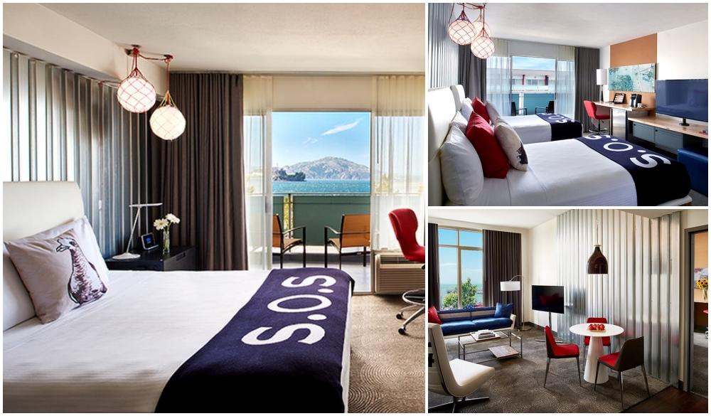 Hotel Zephyr, hotels close to fisherman's wharf