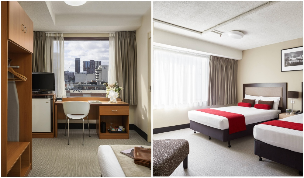 Mercure Welcome Melbourne, rooftop bar hotel