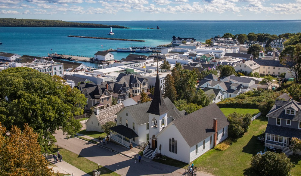 Mackinaw Island Town View, Michigan, underrated U.S. destinations