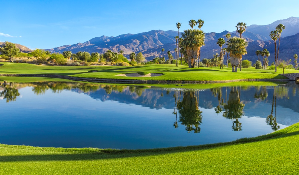 golf course in Palm Springs, underrated U.S. destinations