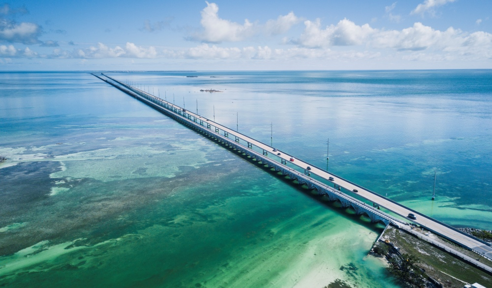 Bridge in Florida Keys, underrated U.S. destinations