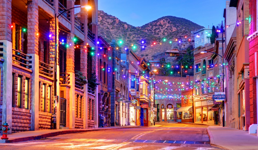 Bisbee is a U.S. city, small-town LGBT U.S. destinations