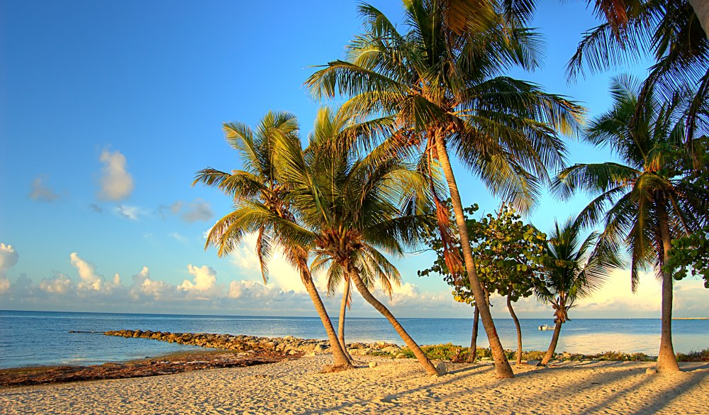 Key West in the glow of the morning sunrise, small-town LGBT U.S. destinations