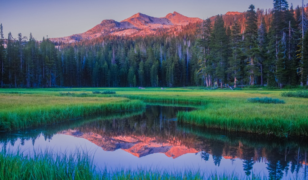 Lake Tahoe, serene destination, early morning on the lake, underrated U.S. destinations