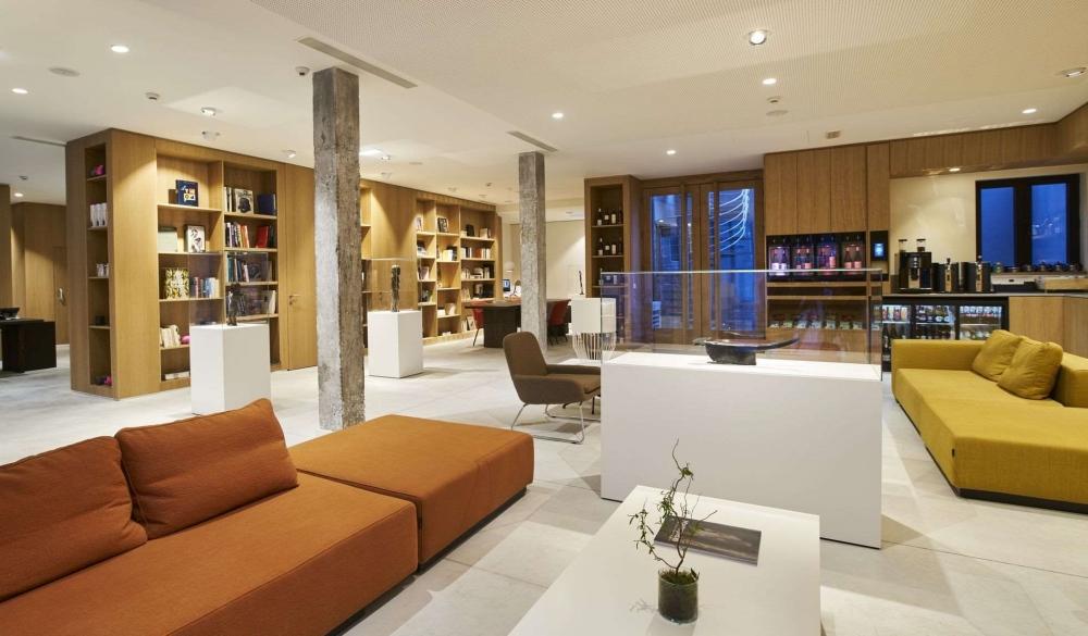 9hotel Sablon, Belgium, hotel with workspaces