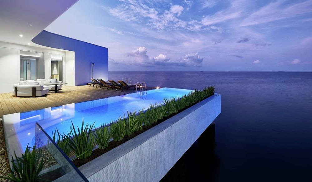 Conrad Maldives Rangali Island, Maldives, unique hotel