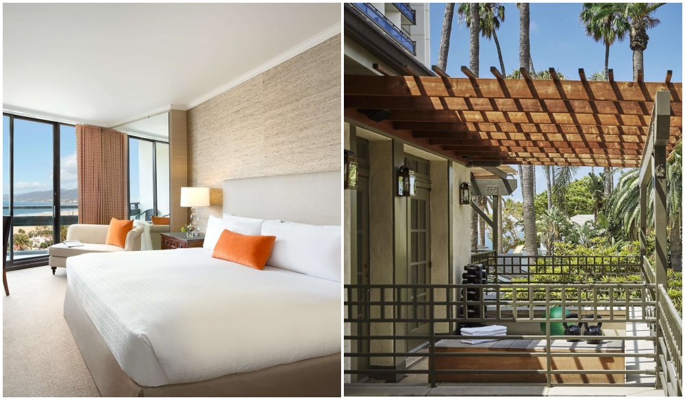Fairmont Miramar Hotel & Bungalows, pet-friendly hotel in the United States