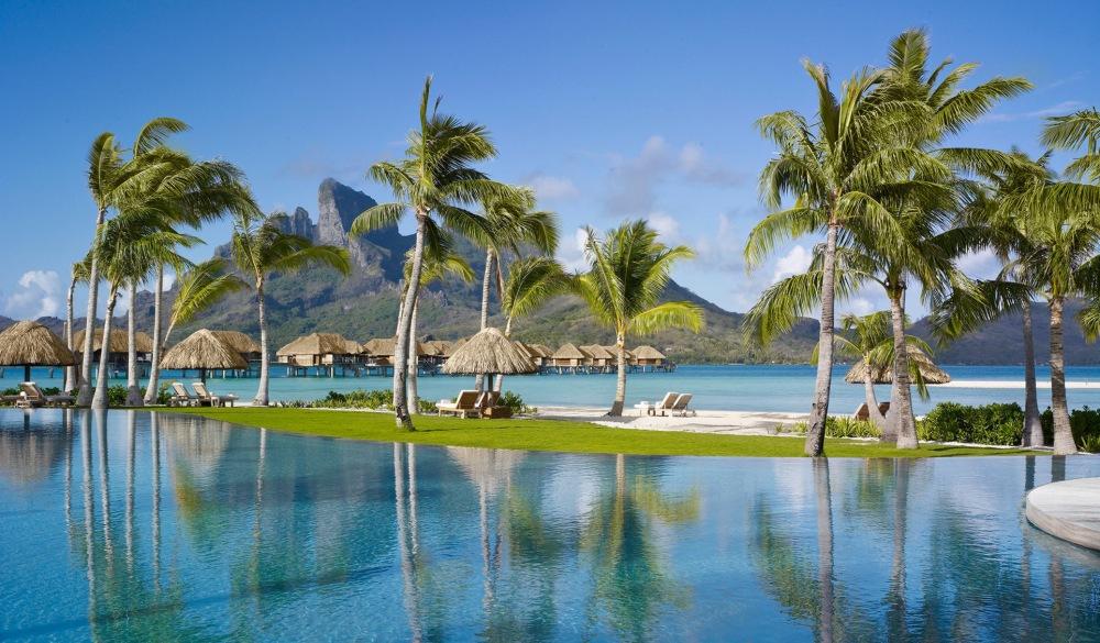 Four Seasons Bora Bora, French Polynesia, resort on the water