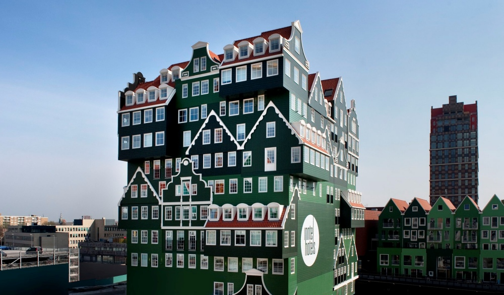 Inntel Amsterdam Zaandamn, Netherlands, unique hotel